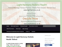 Tablet Preview of lightharmony.co.uk